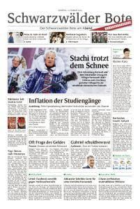 Schwarzwälder Bote Blumberg - 13. Februar 2018