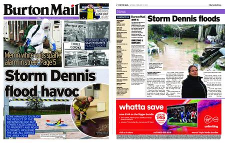 Burton Mail – February 17, 2020