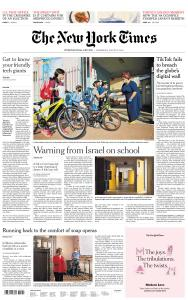 International New York Times - 5 August 2020