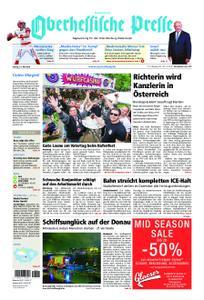 Oberhessische Presse Hinterland - 31. Mai 2019
