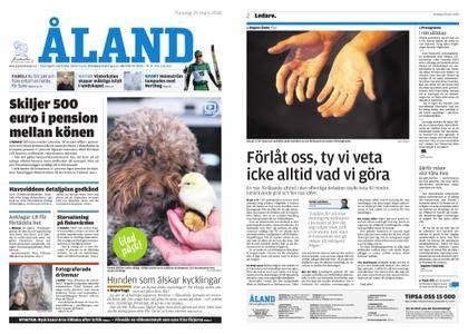 Ålandstidningen – 29 mars 2018