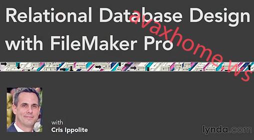 Lynda.com - Relational Database Design with FileMaker Pro