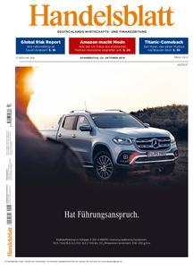 Handelsblatt - 25. Oktober 2018