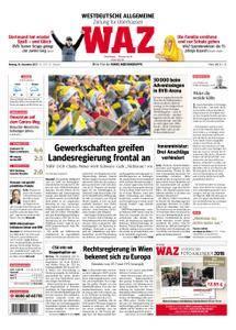 WAZ Westdeutsche Allgemeine Zeitung Oberhausen-Sterkrade - 18. Dezember 2017