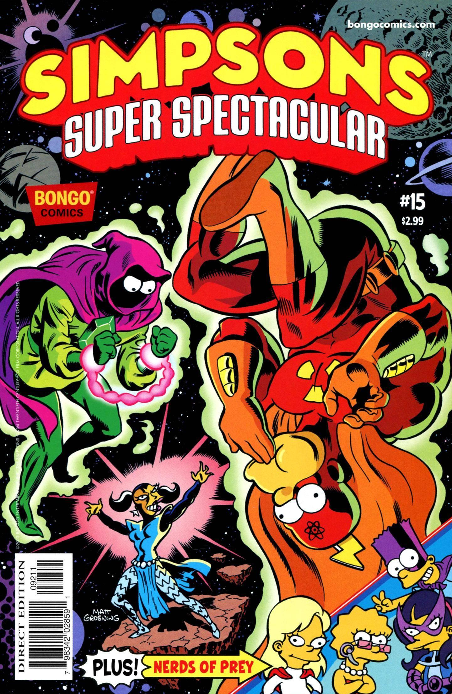 Bongo Comics Presents Simpsons Super Spectacular 015 2012