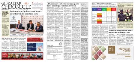 Gibraltar Chronicle – 15 May 2021