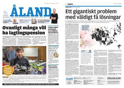 Ålandstidningen – 07 november 2019