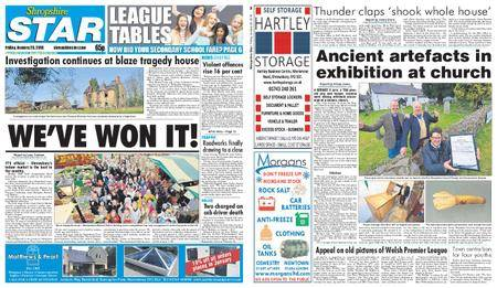 Shropshire Star Shrewsbury Edition – January 26, 2018