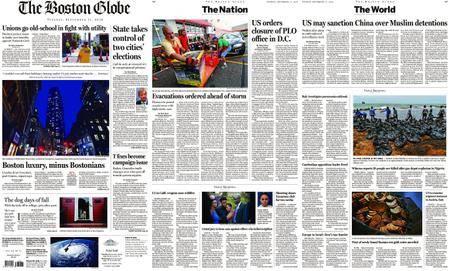 The Boston Globe – September 11, 2018