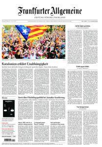 Frankfurter Allgemeine Zeitung F.A.Z. - 28. Oktober 2017