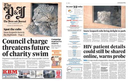 The Press and Journal Moray – September 28, 2019