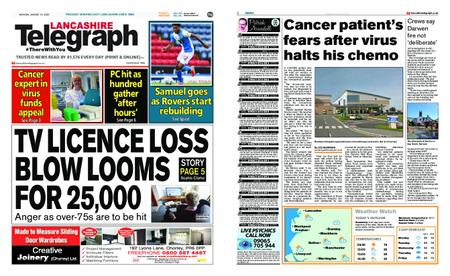 Lancashire Telegraph (Blackburn, Darwen, Hyndburn, Ribble Valley) – August 10, 2020