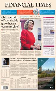 Financial Times Europe – 24 January 2019