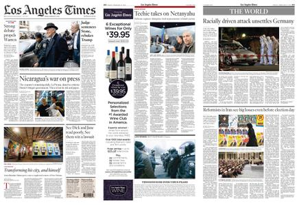 Los Angeles Times – February 21, 2020