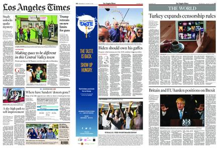 Los Angeles Times – August 21, 2019