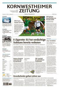Kornwestheimer Zeitung - 10. September 2019