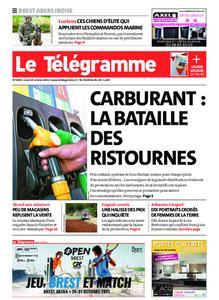 Le Télégramme Brest Abers Iroise – 25 octobre 2021