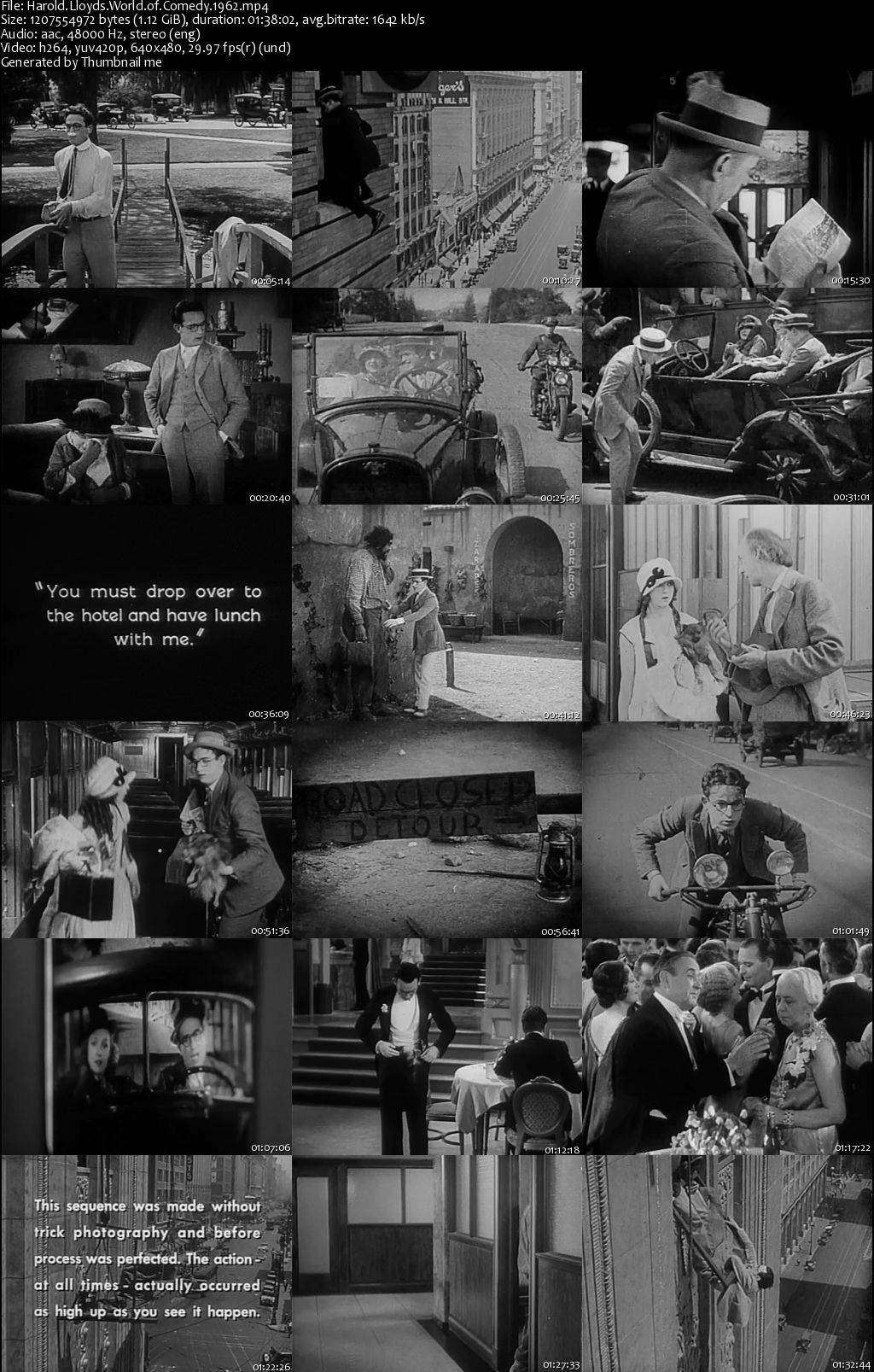 World of Comedy / Harold Lloyd's World of Comedy (1962)