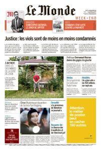 Le Monde du Samedi 15 Septembre 2018
