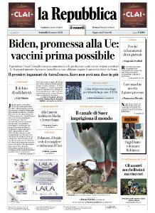 la Repubblica - 26 Marzo 2021