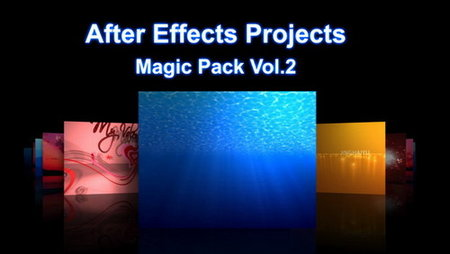 After Effects Projects Magic Pack Vol.02 More Than 100 Projects