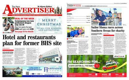 The Herts Advertiser – December 21, 2017