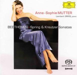 Anne-Sophie Mutter, Lambert Orkis - Beethoven: Spring & Kreutzer Sonatas (1998/2002) SACD ISO