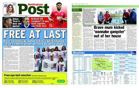 Nottingham Post – September 15, 2017
