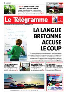 Le Télégramme Brest – 22 mai 2021