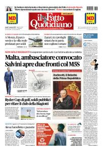 Il Fatto Quotidiano - 07 gennaio 2019