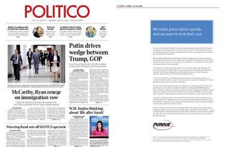 Politico – July 24, 2018