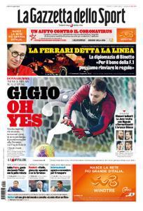 La Gazzetta dello Sport Roma – 19 marzo 2020