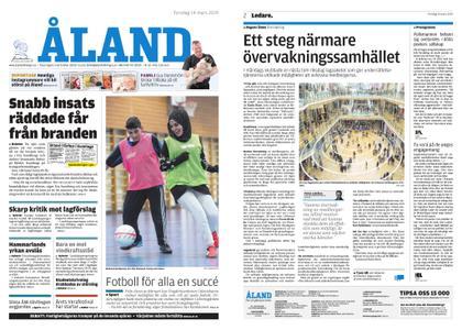 Ålandstidningen – 14 mars 2019