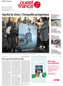 Ouest-France Édition France – 21 octobre 2020