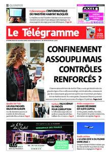 Le Télégramme Quimper – 24 novembre 2020