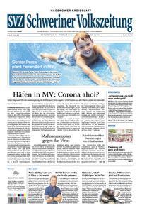 Schweriner Volkszeitung Hagenower Kreisblatt - 27. Februar 2020