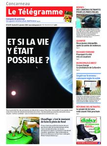 Le Télégramme Concarneau – 13 septembre 2019