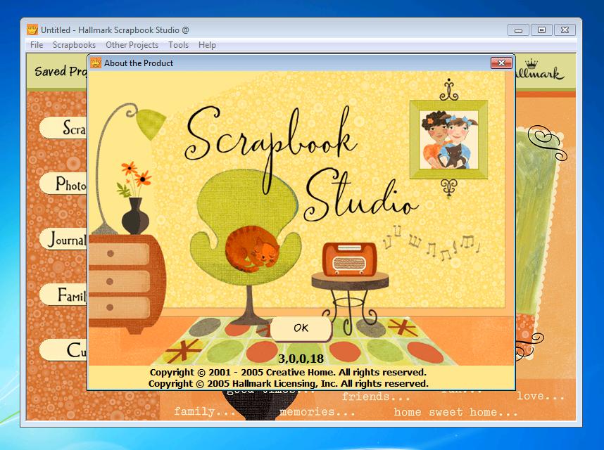 Hallmark Scrapbook Studio Deluxe v3.0 Portable