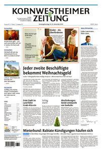 Kornwestheimer Zeitung - 24. November 2018