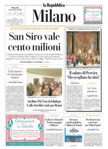 la Repubblica Milano - 3 Dicembre 2019
