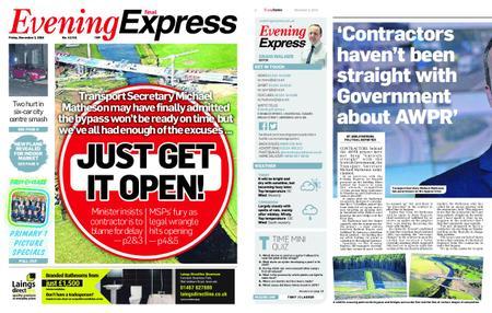 Evening Express – November 02, 2018
