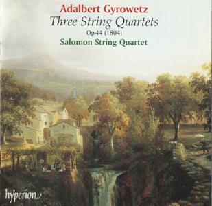 Salomon String Quartet - Adalbert Gyrowetz: Three String Quartets (2000)