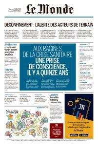 Le Monde du Mardi 5 Mai 2020