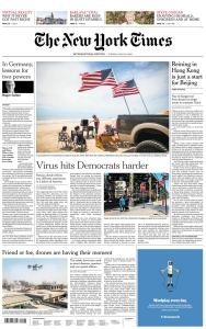 International New York Times - 26 May 2020