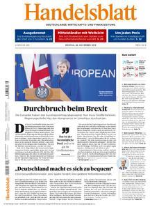 Handelsblatt - 26. November 2018