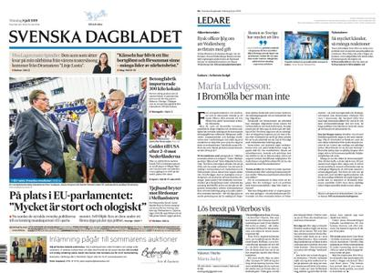 Svenska Dagbladet – 08 juli 2019