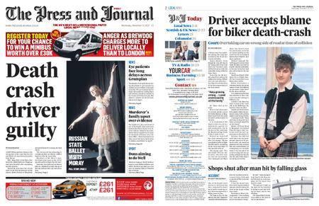 The Press and Journal Moray – November 15, 2017