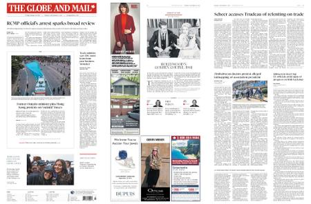 The Globe and Mail – September 16, 2019
