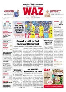 WAZ Westdeutsche Allgemeine Zeitung Oberhausen-Sterkrade - 30. April 2018