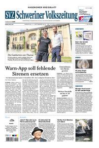 Schweriner Volkszeitung Hagenower Kreisblatt - 17. September 2019